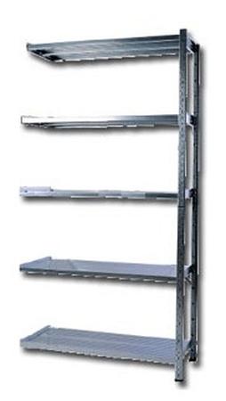 77156828 Regał zaczepowy na chemikalia, 4 półki (wymiary: 2000x1000x600 mm)