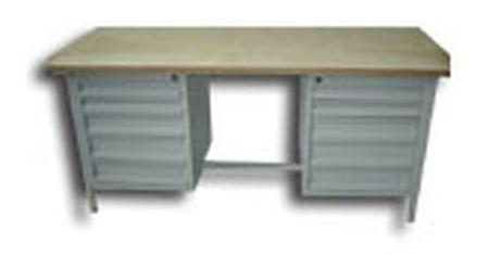 77156857 Stół warsztatowy, 10 szuflad (wymiary: 2000x750x900 mm)