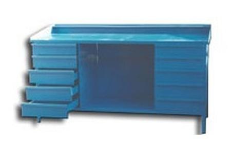 77156874 Stół ślusarski, 10 szuflad (wymiary: 2000x800x900 mm)