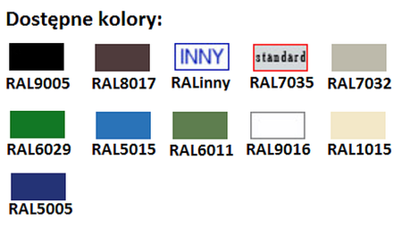 77156927 Stolik na kółkach, 1 półka (wymiary: 700x800x900-1000 mm)