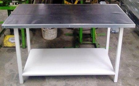 77156932 Stół warsztatowy, półka metalowa (wymiary: 1500x750x900 mm)