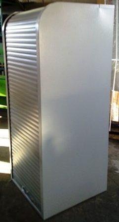 77157106 Szafa biurowa z żaluzją z otwieraną górą, 4 półki (wymiary: 1800x800x500 mm)