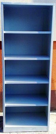 77157107 Regał biurowy, 4 półki (wymiary: 2100x800x500 mm)