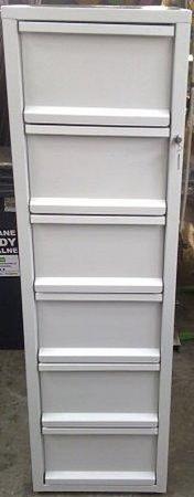 77157114 Szafa kartotekowa, 6 szuflad A4 (wymiary: 1510x435x530 mm)