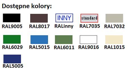 77157118 Szafa kartotekowa, 4 szuflady A5 (wymiary: 1320x780x530 mm)
