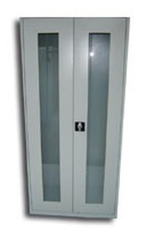 77157313 Szafa laboratoryjna-lekarska stojąca, 4 półki przestawiane (wymiary: 1800x800x440 mm)