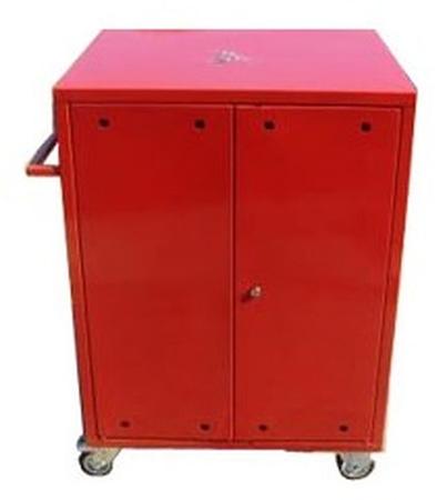 77157346 Wózek narzędziowy, 2 półki, 2 szuflady (wymiary: 1000x600x500 mm)