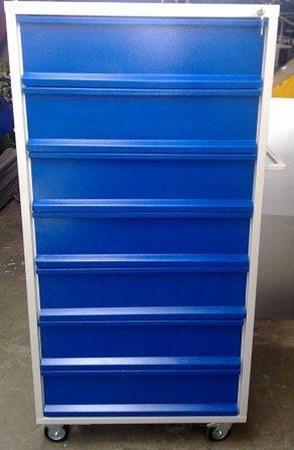 77157353 Wózek narzędziowy, 7 szuflad (wymiary: 1500x800x600 mm)