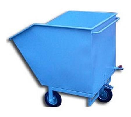 77157394 Wózek przechylny-wywrotnica, 400 L (wymiary: 1000x800x1350 mm)