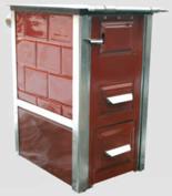 92238162 Kuchnia kaflowa 7,5kW Mini (kolor: brąz)