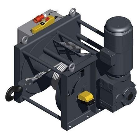 95846360 Wciągarka elektryczna WEL-1000/6/40 (udźwig: 1000 kg)