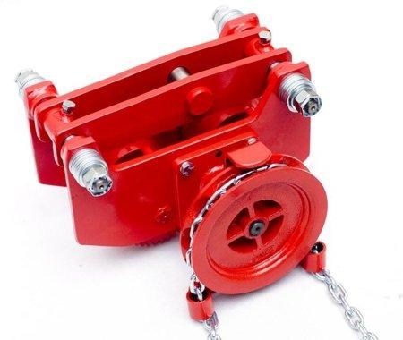 9588170 Wózek szynowy do wciągników przejezdnych WS-25P (udźwig: 2,5 T)