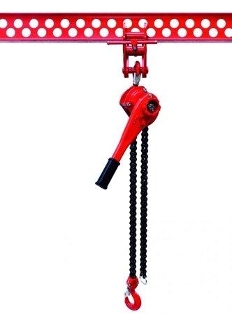 9588181 Wciągnik łańcuchowy dźwigniowy, łańcuch Galla WŁG-32A (udźwig: 3,2 T)