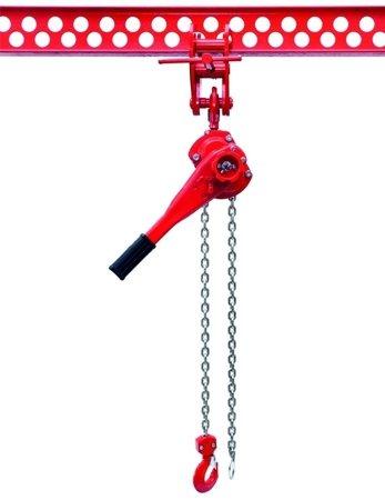 9588185 Wciągnik łańcuchowy dźwigniowy, łańcuch Ogniwowy WŁG-15B (udźwig: 1,5 T)