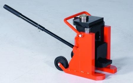99724875 Podnośnik hydrauliczny pazurowy przesuwny GermanTech TB 200 (udźwig: 12 lub 15 T)