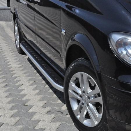 DOSTAWA GRATIS! 01655733 Stopnie boczne - Mercedes Vito W639 2004-2014 extra-long (długość: 252 cm)