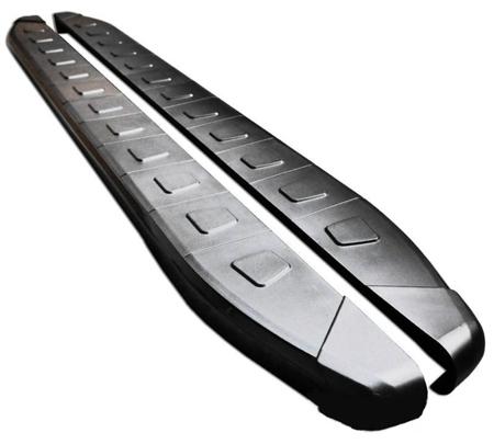DOSTAWA GRATIS! 01655956 Stopnie boczne, czarne - Nissan X-Trail T32 2014- (długość: 171 cm)