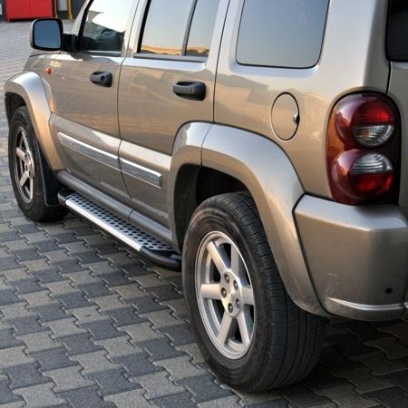 DOSTAWA GRATIS! 01656018 Stopnie boczne - Jeep Cherokee KJ 2001-2006 (długość: 171 cm)