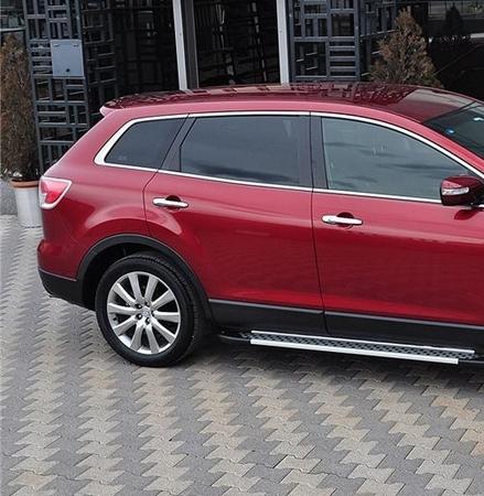 DOSTAWA GRATIS! 01656041 Stopnie boczne - Mazda CX-7 (długość: 171-182 cm)
