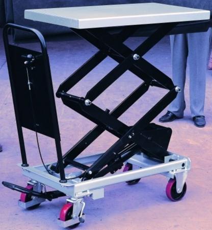 DOSTAWA GRATIS! 310566 Ruchomy stół podnośny (udźwig: 800 kg, wymiary platformy: 1010x520 mm)