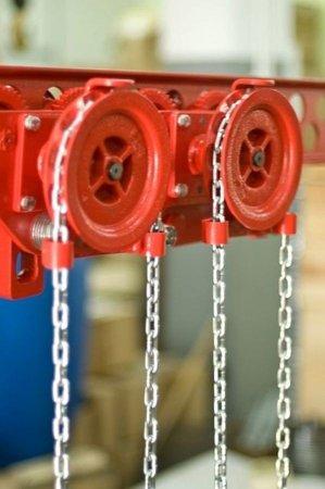 DOSTAWA GRATIS! 9588166 Wózek szynowy do wciągników stacjonarnych (udźwig: 2,5 T)