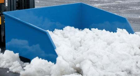 DOSTAWA GRATIS! 99724702 Pojemnik do śniegu i piasku GermanTech SK 1 (pojemność: 1000 L)