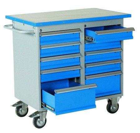 DOSTAWA GRATIS! 99724946 Wózek. szafka stalowa narzędziowa GermanTech (wymiary: 1025x600x900 mm)