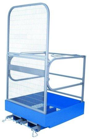 DOSTAWA GRATIS! 99746685 Kosz roboczy do wózka widłowego GermanTech (wymiary: 1000x1000 mm)