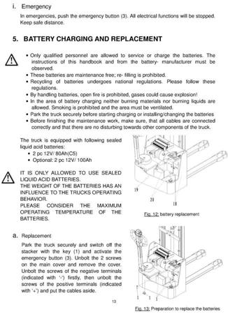 DOSTAWA GRATIS! 99746695 Wózek paletowy elektryczny GermanTech ECL1035 (udźwig: 1000 kg, długość wideł: 1150 mm, wysokość podnoszenia: 3500 mm)