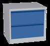 00150474 Szafa kartotekowa na teczki A5 pionowe, 4 rzędy, 2 szuflady (wymiary: 710x745x630 mm)