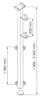 08115187 Wysoki maszt do wyciągarki Camac: Minor P-200, P-150, Mini M-100, 2003 i Millennium 325