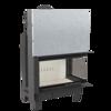 30053242 Wkład kominkowy 15kW MBO 15 BS Gilotyna (prawa boczna szyba bez szprosa, drzwi podnoszone do góry)