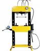 44358874 Prasa hydrauliczna, pneumatyka, ruchomy tłok, regulowany stół, pedał sterujący (siła nacisku: 30 T)